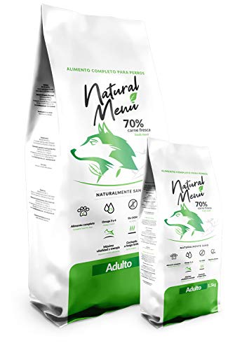 Natural Menu Adulto Comida para Mascotas - 5000 gr