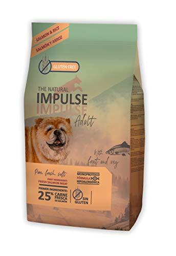 IMPULSE Pienso para Perros Natural Dog Salmon 12 Kg