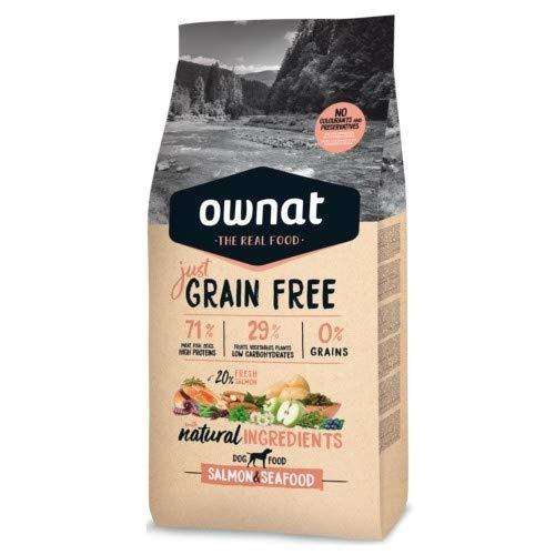 Ownat Pienso para Perros de Salmón Free Grain Sin Granos (3 kg)...