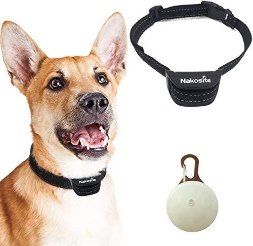 Nakosite PET2433 El Mejor Collar Anti-Ladridos, Collar Frena...
