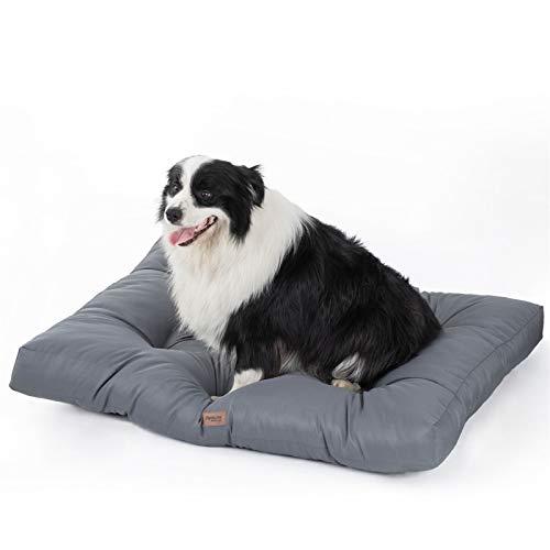 Bedsure Camas para Perros Grandes Impermeable - Colchón Perro...