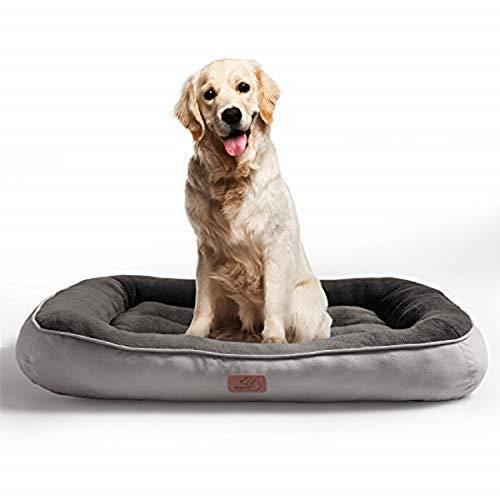 Bedsure Cama Perro Grande Lavable XL - Colchon Perro Cómoda de...