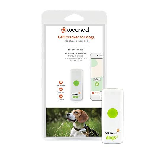 Weenect Dogs 2 - El collar GPS para perros más pequeño del...