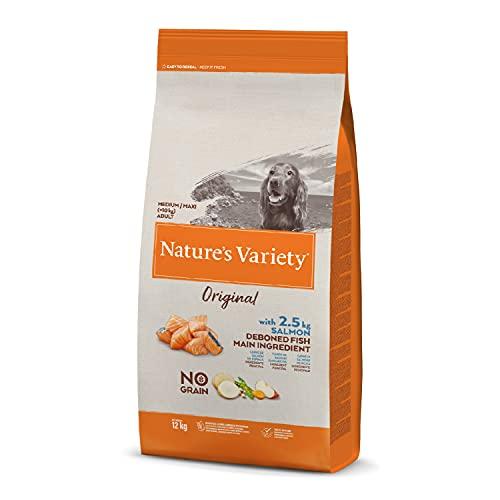 Nature's Variety Original No Grain - Pienso para perros junior...