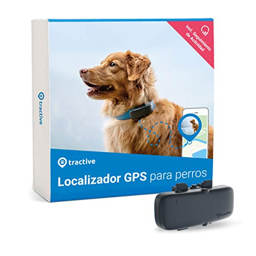 Tractive Localizador GPS para perros, rastreador con rango...