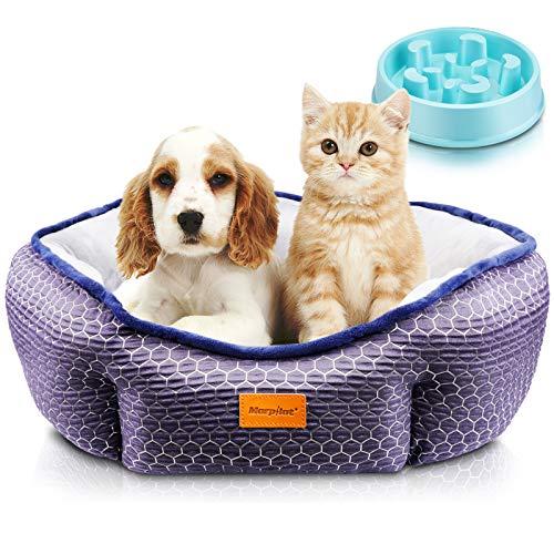 Cama Gato, Cama Perro Pequeño, Cama para Mascotas con Suave...