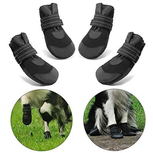 Hcpet Protectores de Pata de Perro, Zapatos Perro para Pequeña y...