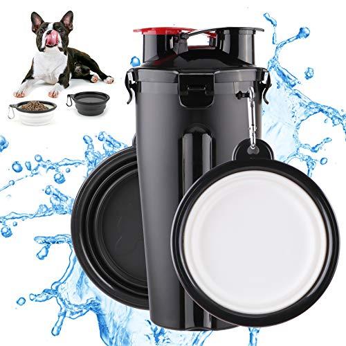 Botella de Agua para Perros Portatil Envase de Comida para Perros...