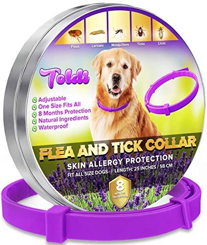 toldi Tratamiento-de-pulgas-para-Perros, Collar-antipulgas-Perros...