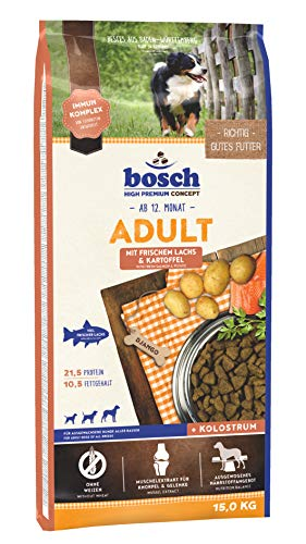 bosch HPC Adult | con Salmón fresco y Patata | Comida seca para...