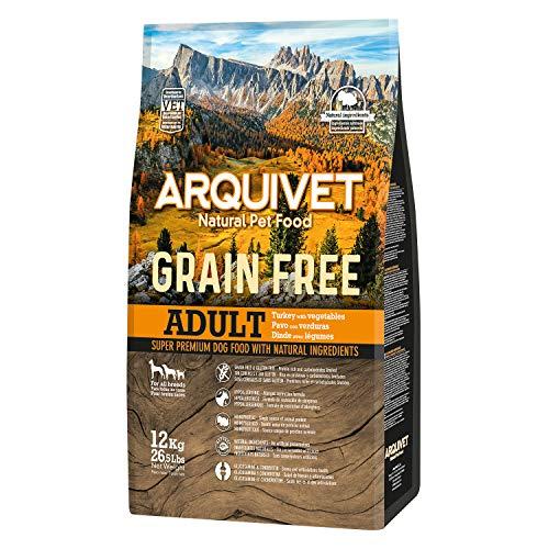 Arquivet Pienso natural para perros adultos - Grain free - Sin...