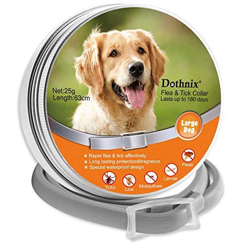 dothnix Collares Antipulgas Aantiparasitos para Perros y Gatos...