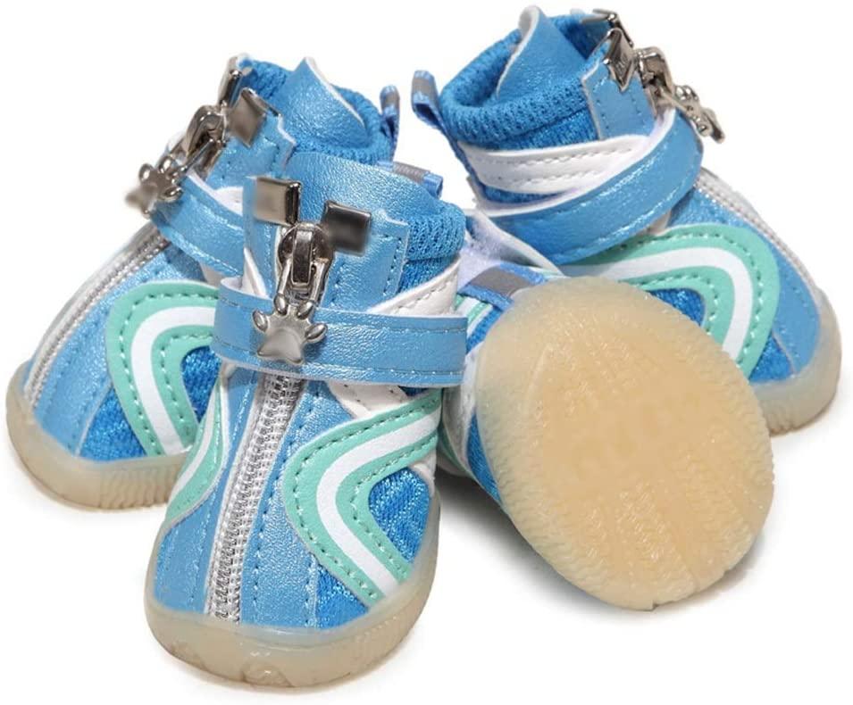 FELICILII Cute Puppy Pet Shoes Cool Sports