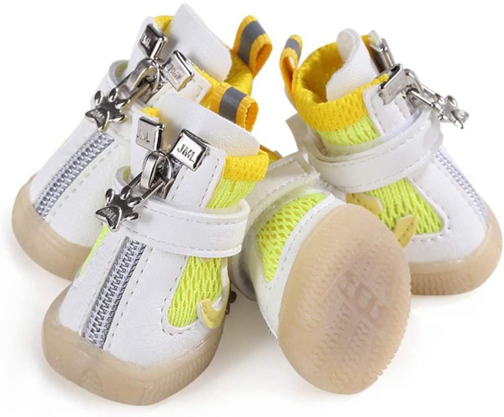 Feidaeu Zapatos para Mascotas Cool Malla Transpirable Deportes Diarios