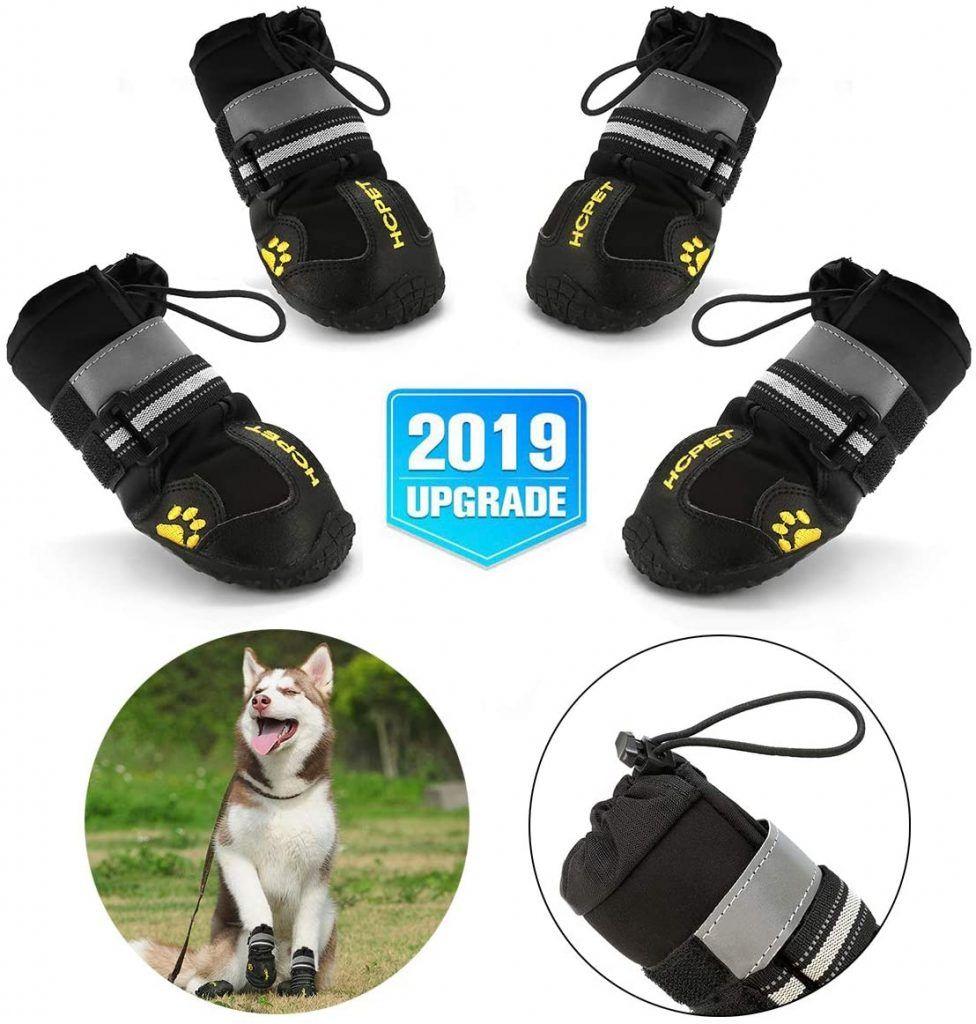 Zapatos Antideslizantes para Perros con Resistente al Desgaste, Banda Interior Antideslizante y elástica