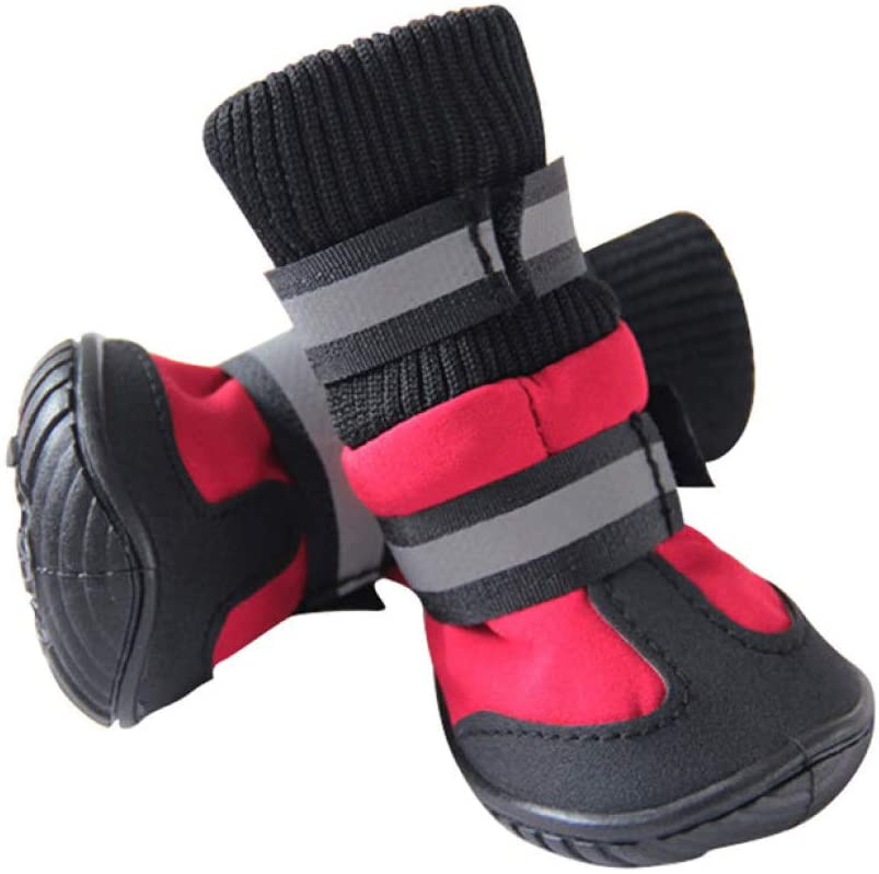 Zapatos para mascotas Protectores de patas Zapatos para perros de cintura altav