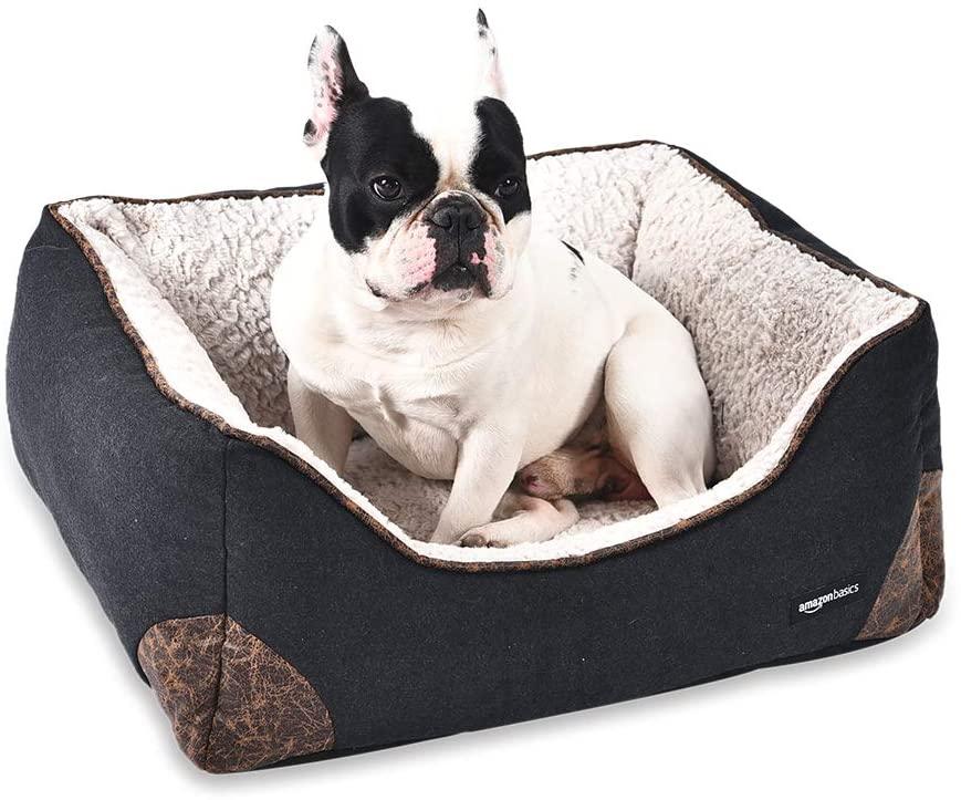 AmazonBasics Cama para mascotas, de tamaño pequeño