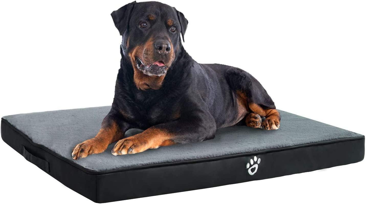 Fristone Cama para perro grande, lavable ortopédica